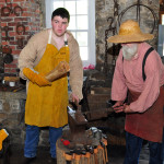 Village Blacksmith and Apprentice